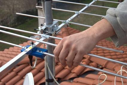 montaż anteny naziemnej łódź