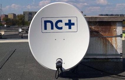 montaż anteny NC+ 80 cm Łódź