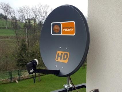 montaż anteny cyfrowy Polsat Łódź