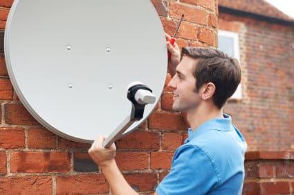 ustawianie anteny satelitarnej łódź