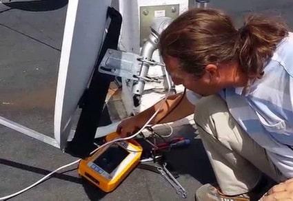 ustawianie anteny łódź promax